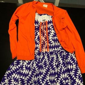 crewcuts  dress and sweater size 10
